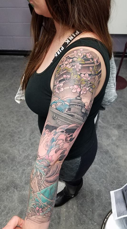 Asian sleeve