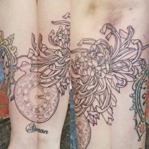 Fine line best tattoo artist eureka